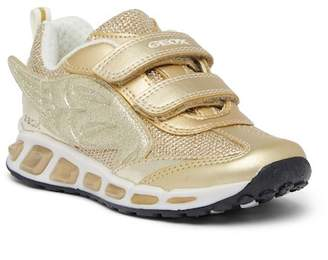 Geox Shuttle Winged Metallic Light-Up Athletic Sneaker (Toddler, Little Kid, & Big Kid)