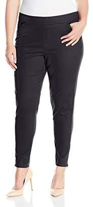 Lee Women's Plus Size Modern Series Midrise Fit Annika Tapered Leg Pant