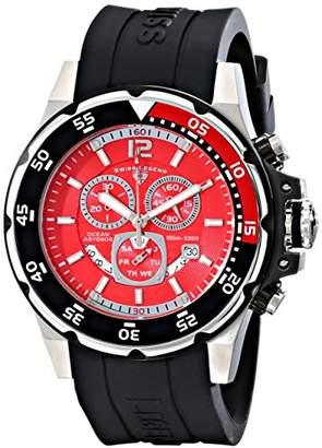 Swiss Legend Men's 10348-05 Ocean Abyssos Analog Display Swiss Quartz Black Watch