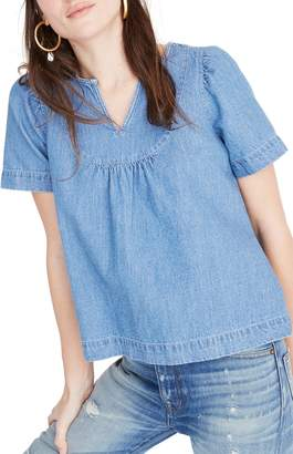 6acd236937 Madewell Blue Plus Size Tops on Sale - ShopStyle
