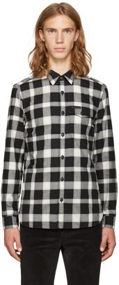 Burberry Black Lewisham Shirt $385 thestylecure.com