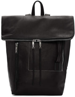 Rick Owens Black Medium Duffle Backpack