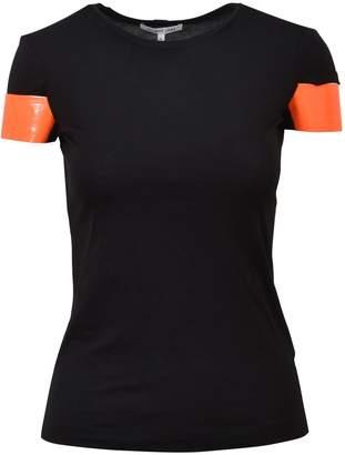 Helmut Lang Shiny Cuff T-shirt Black