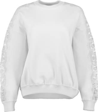 Givenchy Lace Insert Sweater