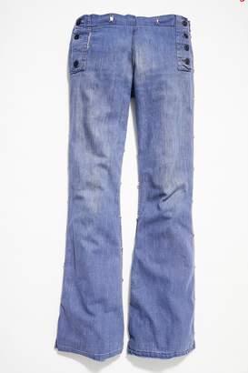 Vintage Loves Vintage 1970s Wide-Leg Jeans