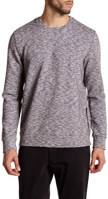Kenneth Cole New York Side Zip Long Sleeve Sweater $89 thestylecure.com