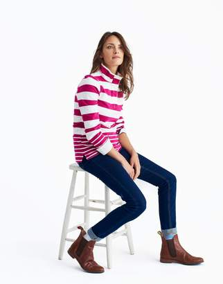 Joules Clothing French Navy Stripe Saunton Sweatshirt