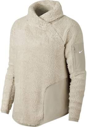 Nike Fleece Mock Neck Top