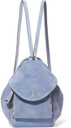 Atelier Manu Fernweh Mini Suede Backpack - Blue