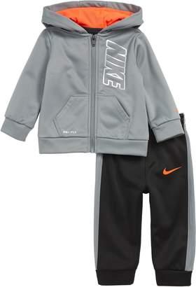 Nike Therma Full Zip Hoodie & Jogger Pants Set