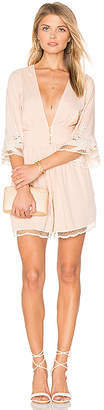 Cleobella River Romper in Blush $242 thestylecure.com