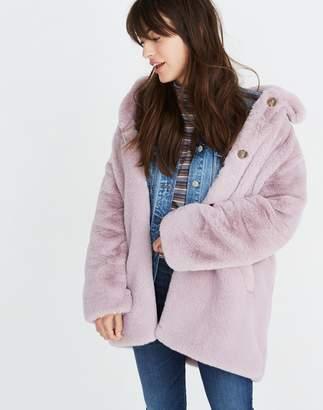Madewell Faux-Fur Coat