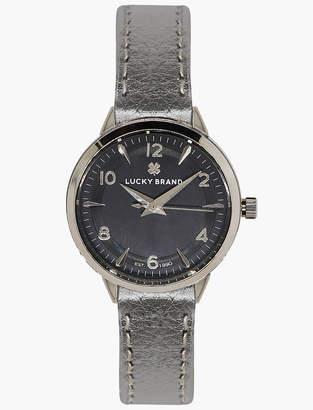 Lucky Brand Torrey Silver Metallic Watch