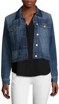 J Brand Women's Harlow Shrunken Cotton Jacket