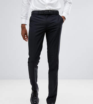 Farah Smart TALL Skinny Suit Pants In Black