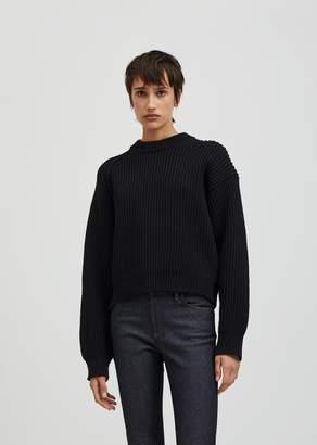 Acne Studios Penina Chunky Knit Sweater Black