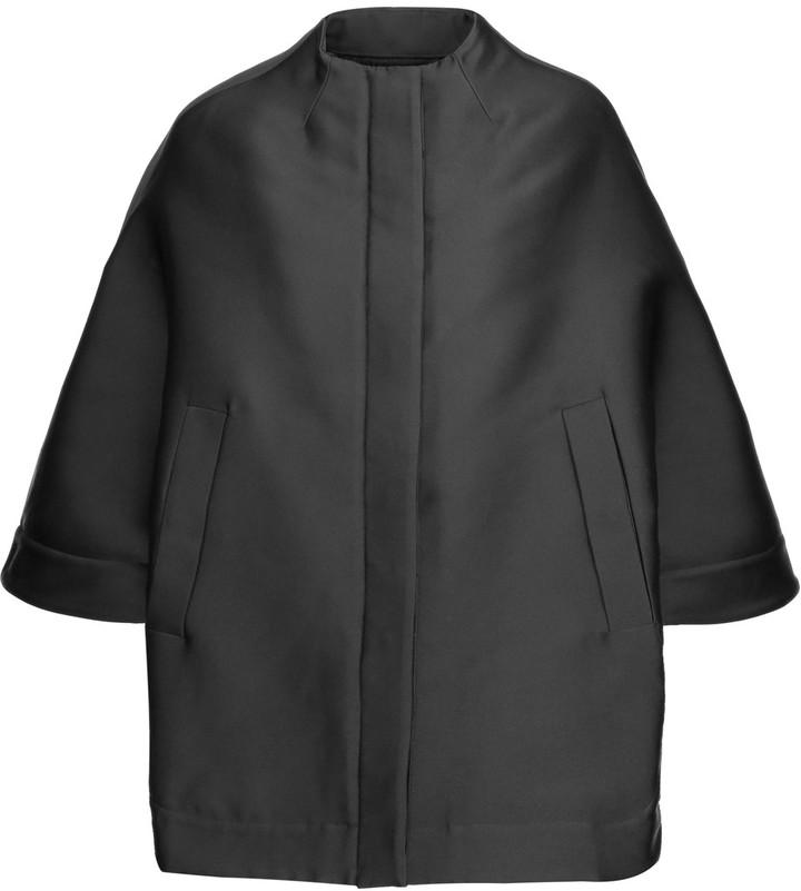 ValentinoValentino Convertible duchesse satin coat