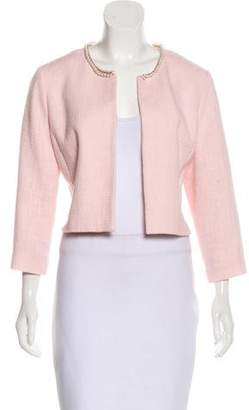 Karl Lagerfeld Embellished Tweed Jacket