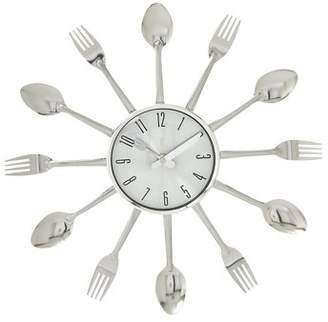 Benzara Gorgeous Metal Kitchen Wall Clock