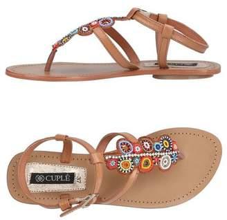 Cuplé Toe post sandal