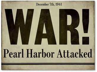 Color Bakery 'Pearl Harbor' Canvas Art