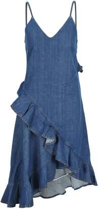 Kenzo Denim Ruffled Dress