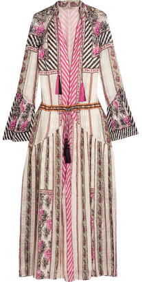 Etro - Embroidered Silk-jacquard Maxi Dress - Pink $4,840 thestylecure.com