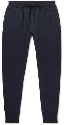 Secondskin Slim-Fit Tapered Loopback Supima Cotton-Jersey Sweatpants