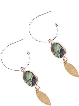 Nakamol Design Mini Abalone Drop Earrings