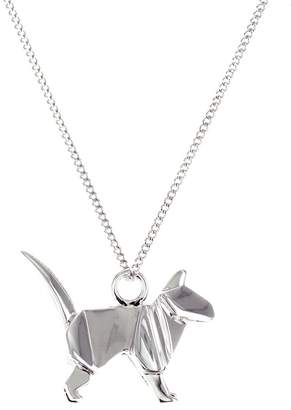 Origami Jewellery Mini Cat Sterling Silver