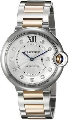 Cartier Women's WE902031 Ballon Bleu Analog Display Automatic Self Wind Two Tone Watch