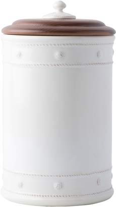 Juliska Berry & Thread Whitewash Ceramic Canister