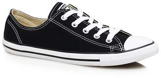 Converse Black Canvas 'Dainty' Trainers