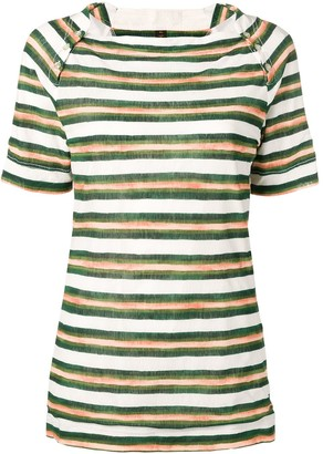 Louis Vuitton Pre-Owned 2000's striped T-shirt