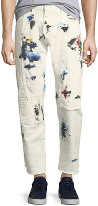 Ovadia & Sons OS-2 Patch Painter Straight-Leg Jeans