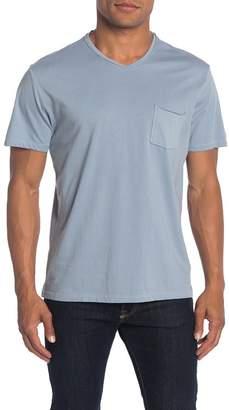Robert Barakett Magog Rolled Edge V-Neck T-Shirt
