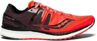 Saucony Women's Liberty ISO Running Shoe (SAU-S10410 4073160 7.5 RED/BLK)