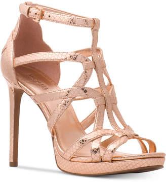 Michael Kors Sandra Platform Caged Dress Sandals