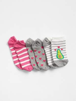 Gap Avocado No-Show Socks (3-Pack)
