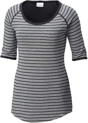 Columbia Winter Adventure Short-Sleeve Stripe T-Shirt - Women's