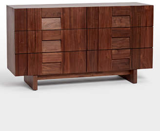 Rejuvenation Kinton 6 Drawer Walnut Dresser