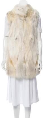Fur Longline Fox Vest
