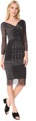 Fuzzi Stampa Fitted Dress $595 thestylecure.com