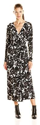 Norma Kamali Women's Dolman Wrap Dress
