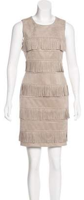 Calvin Klein Fringe Mini Dress