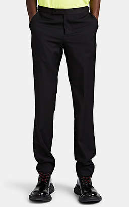 Paul Smith Men's Worsted Wool Evening Trousers - Black