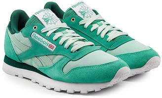 Reebok Classic Sneakers with Leather, Mesh and Suede