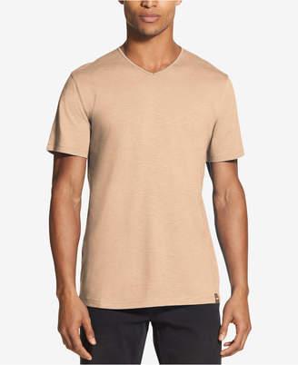 DKNY Men Mercerized V-Neck T-Shirt