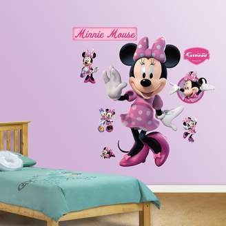 Fathead Disney Mickey Mouse & Friends Minnie Mouse Wall Decals