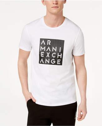 Armani Exchange Men's Boxed Logo T-Shirt